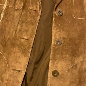 Wilsons Leather Jackets & Coats - Wilson's Leather Suede Moto Jacket
